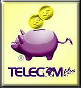 work from home with telecom plus logo